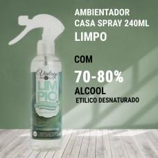 Ambientador Casa Spray Vintage 240ml- Limpo